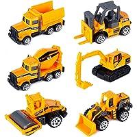 Dreamon Camiones de Construcción Mini Coches Escala 1:72