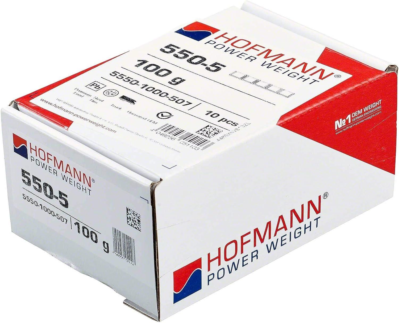 10x Klebegewicht Typ 550 100 G Hofmann Power Weight Lkw Reifen Alufelgen Auswuchtgewicht Auto