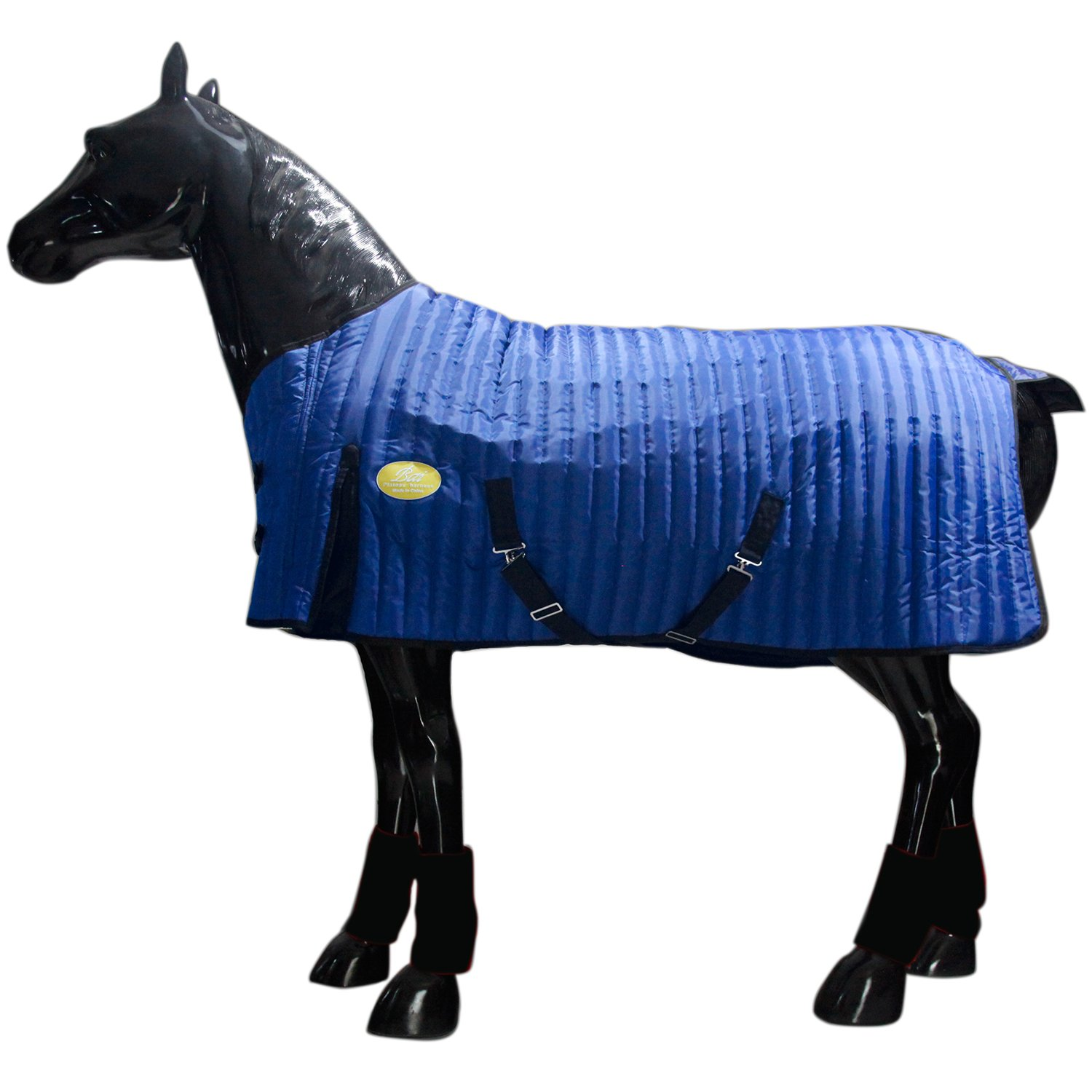bluee 125cm bluee 125cm SportTent Comfitec Waterproof 400D Horsewear Warm Equestrian Cloth Horse Rug Winter 300g Cotton Padded Thick Breathable (125cm, bluee)