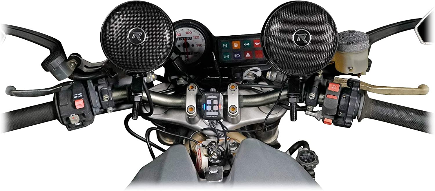 Rockville Bluetooth ATV Audio System w//Handlebar Speakers For Can-Am Outlander