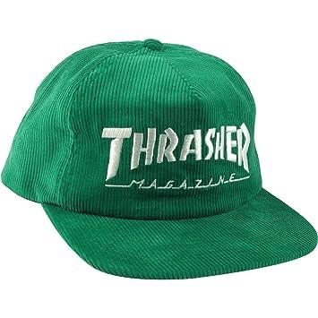 Thrasher Magazine Mag Logo verde cable gorra - ajustable: Amazon.es: Deportes y aire libre