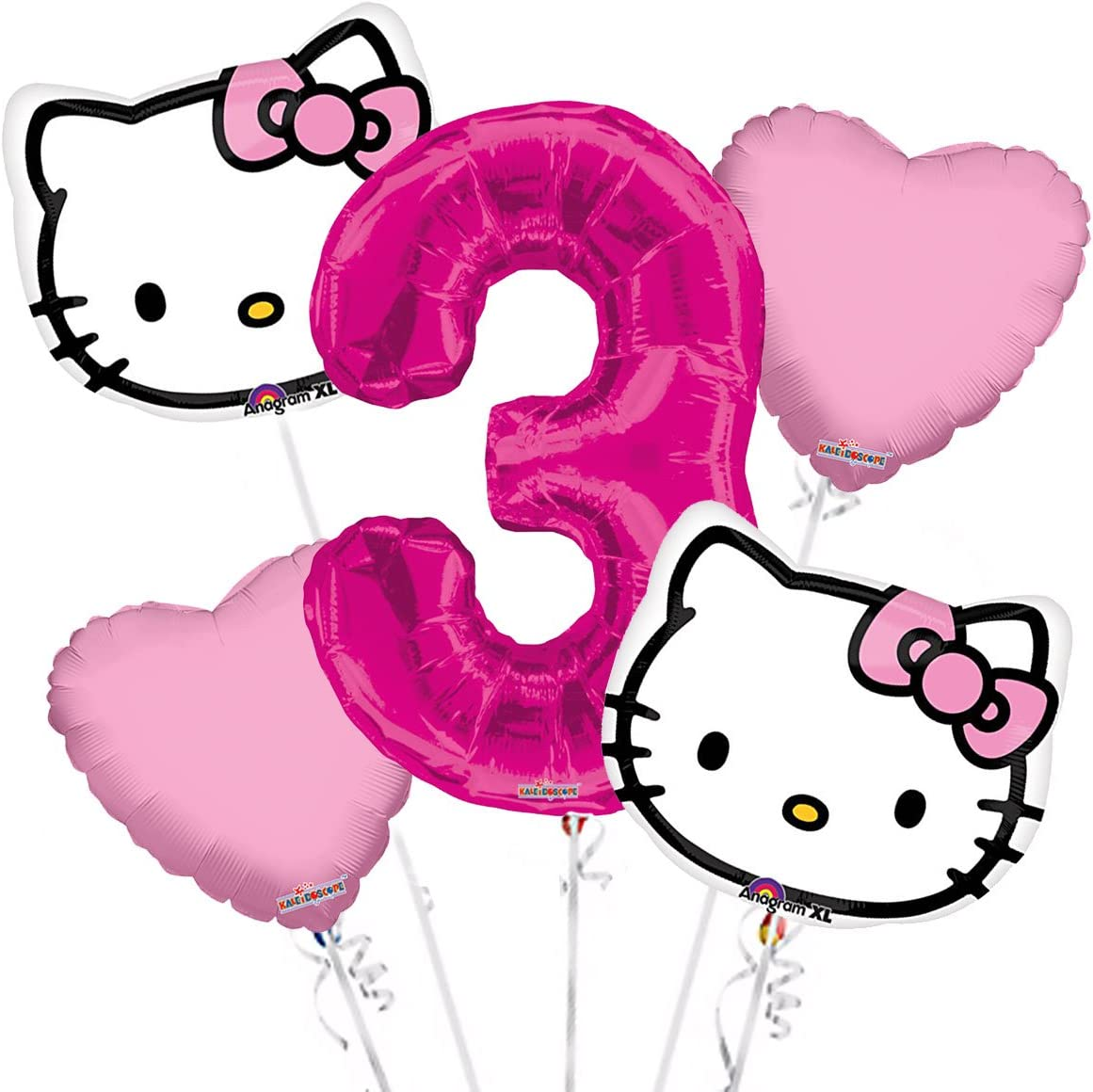 """46/"""" BIG HUGE GIANT HELLO KITTY Helium Foil Balloon Kids Party Decor Party Supply"""