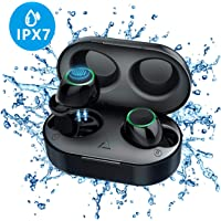 Wireless Earbuds, Mpow Waterproof IPX7 Sport Bluetooth Headphones, Touch Control Wireless Earbuds with 21H Playingtime, Auto Pairing in-Ear Balanced Stereo Wireless Earphones with Charging Case