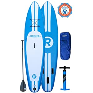iRocker Triple Layer Military Grade PVC Inflatable Paddle Board