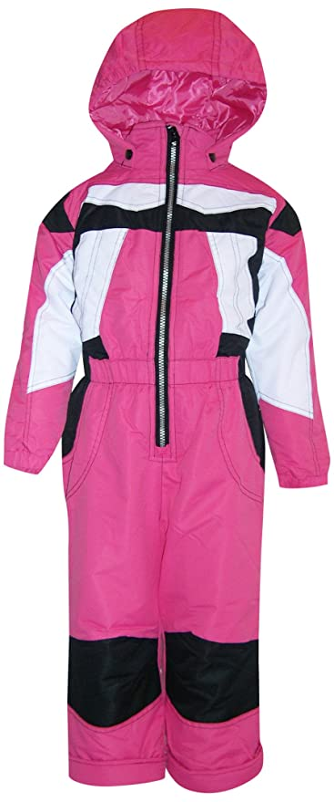 92128bfb071a Amazon.com  Pulse Little Girls and Toddler 1 Piece Snowsuit  Sports ...