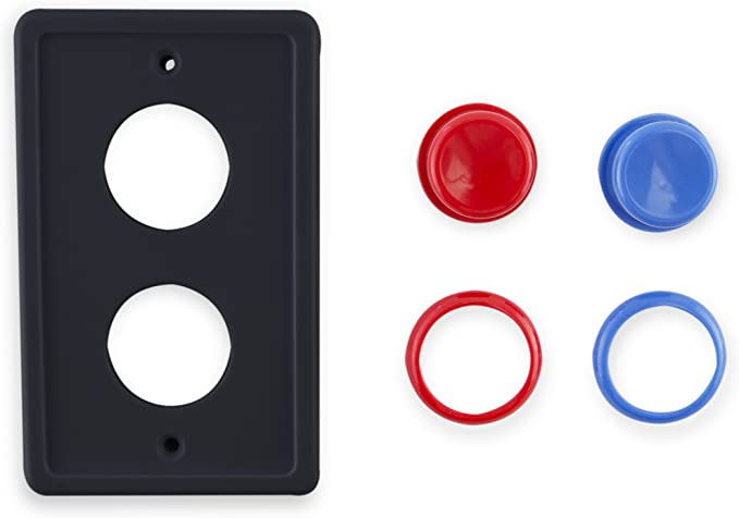 Single Light Switch Plate Cover Hockey Model 2