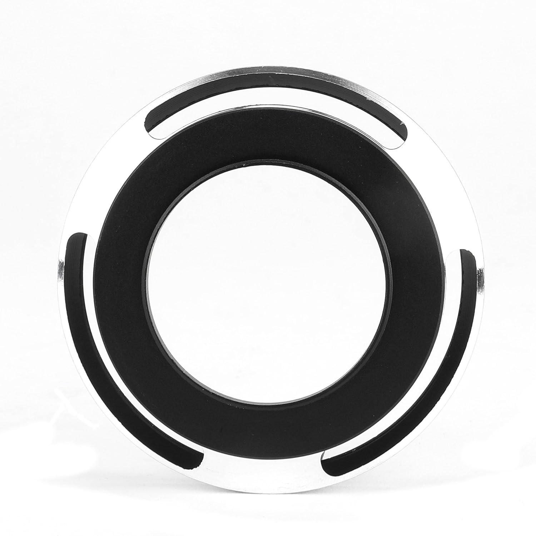 Cubierta del Objetivo CELLONIC/® Parasol /Ø Universal 37mm Silver para Objetivo /Ø 37mm Capilla C/ámara Visera Parasoles