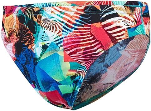 TALLA 34. Speedo - Bañador de natación - para Hombre Multicolor Multicolor Tamaño