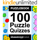 100 Puzzle Quizzes (Interactive Puzzlebook for E-readers) (English Edition)