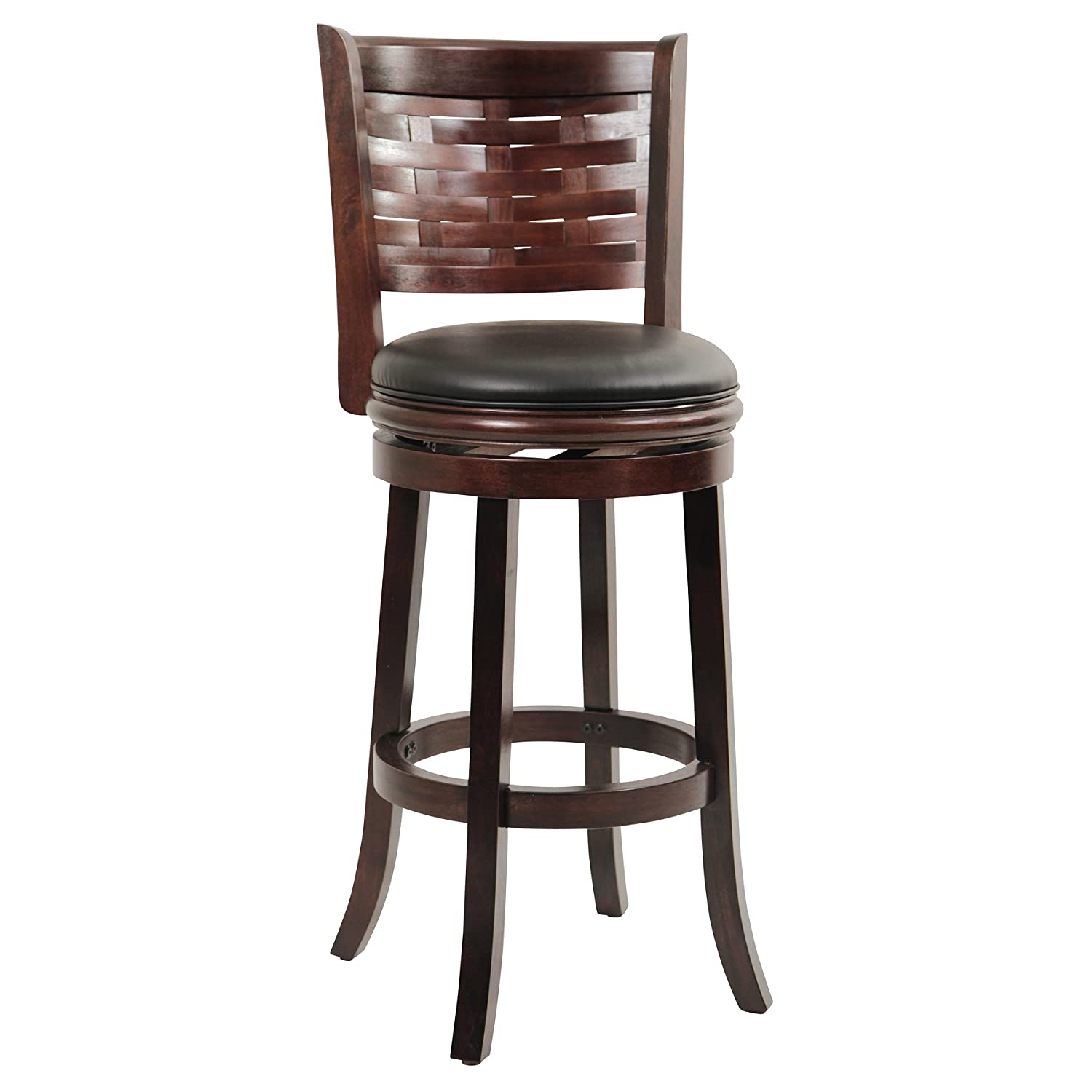 Amazon Boraam Sumatra Bar Height Swivel Stool 29 Inch
