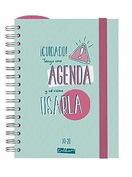 Finocam - Agenda 2019-2020 1 día página español Talkual Turquesa