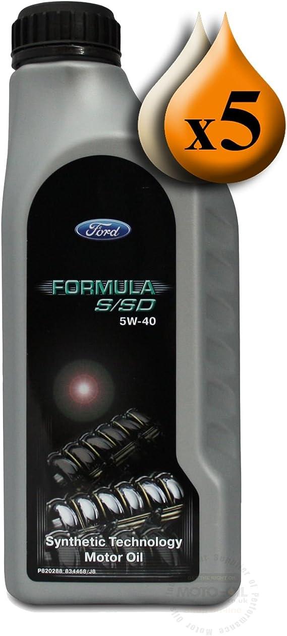 Original Ford Engine Oil 5w40 Formula S Sd 1 Litre Auto