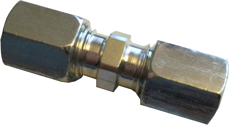 1 x Cobre LPG Auto Gas CU de línea del conector schneidringversion 6 mm: Amazon.es: Coche y moto