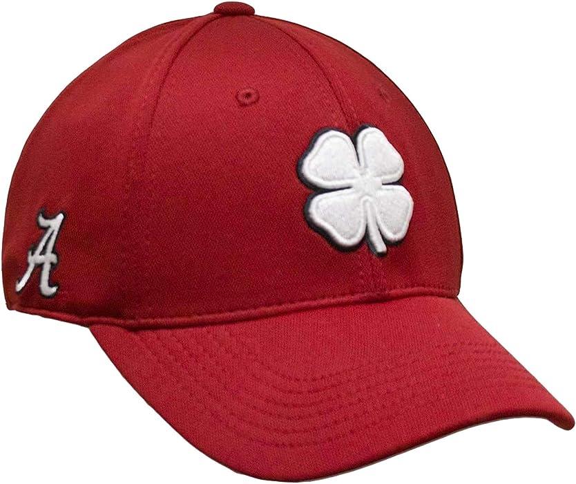 f64d9cbfc7a Black Clover White Black Crimson Alabama Premium Fitted Hat - S M at ...