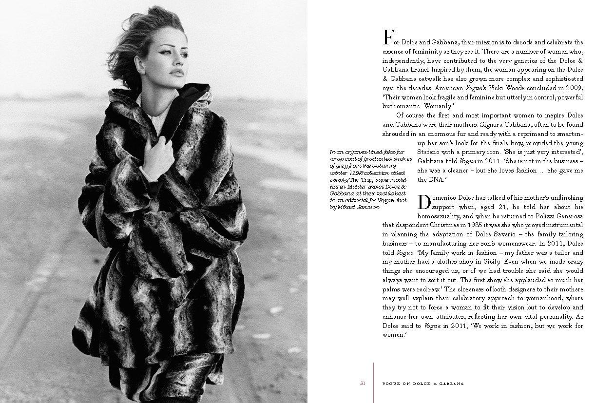 3c1e6be918 Vogue on Dolce & Gabbana: Luke Leitch, Ben Evans: 9781849499729:  Amazon.com: Books