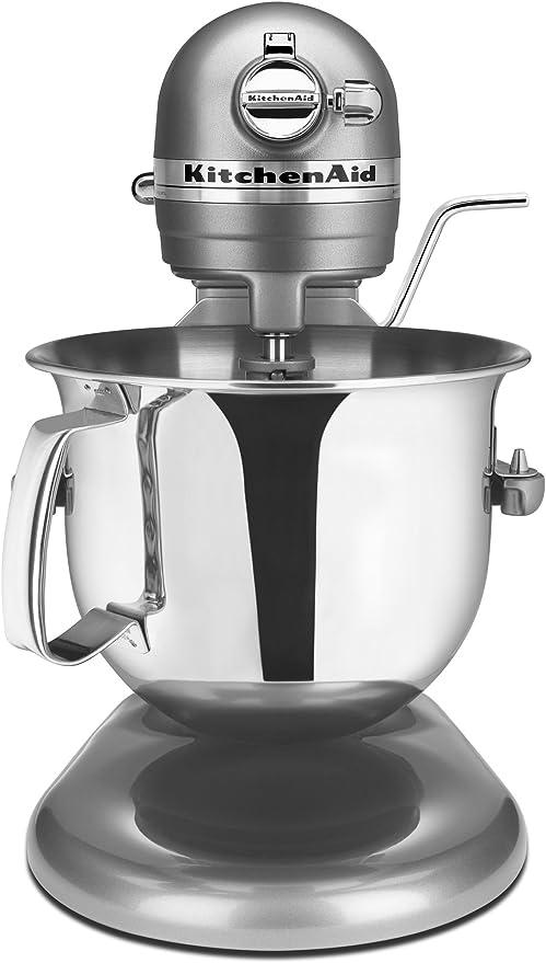 Amazon Com Kitchenaid Professional 6000 Hd Ksm6573ccu Stand Mixer 6 Quart Contour Silver Electric Stand Mixers Kitchen Dining