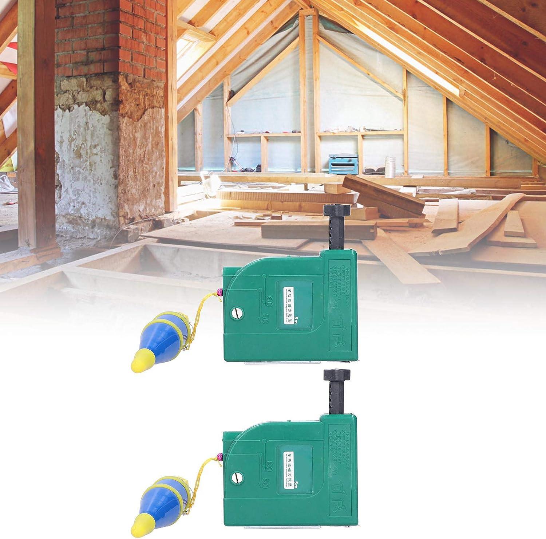 Building Tool SALUTUYA 2Pcs Plumb Bob Hanging Wire Hammer Magnetic Plumb Bob for Construction Industry House Decoration
