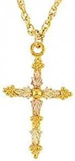 product image for Black Hills Gold Cross Necklace