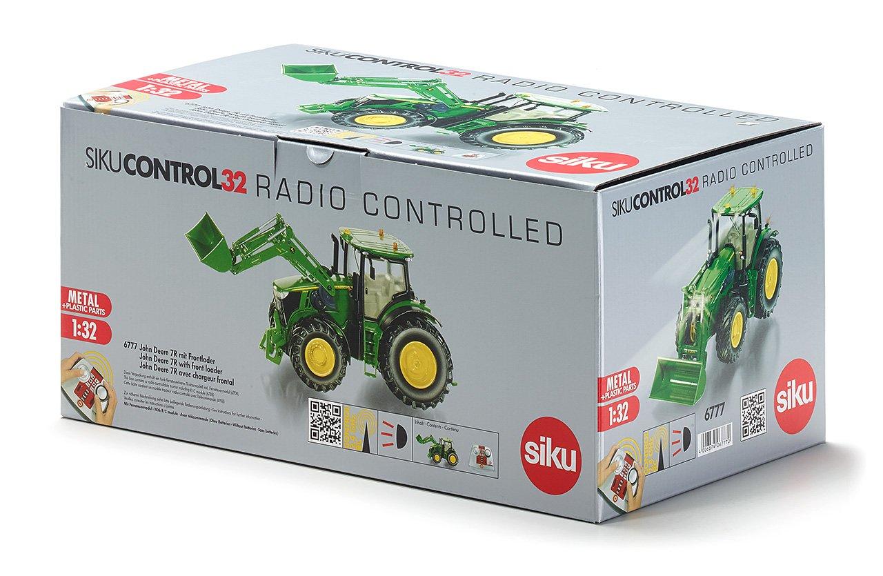 Siku 6777 - Cargador frontal radiocontrol, 1:32: Amazon.es: Juguetes y juegos