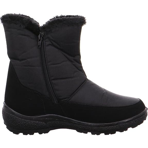 Hengst 892961, Bottes pour Femme - noir - noir,