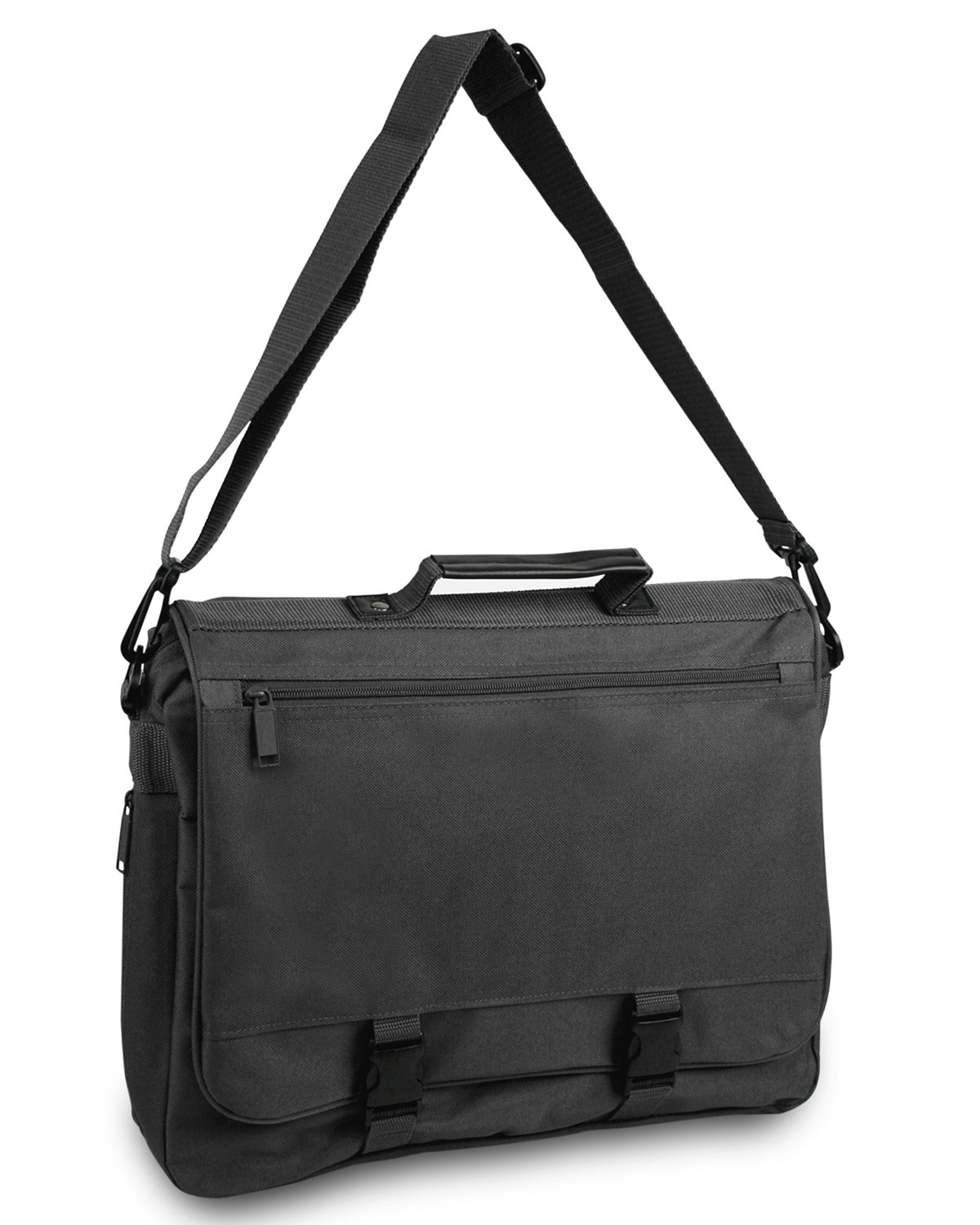 Ultraclub Accessories Expandable Briefcase 1012 -Black One