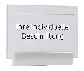 Placa de puerta (Cristal Cartel, Oficina Cartel, soporte de ...