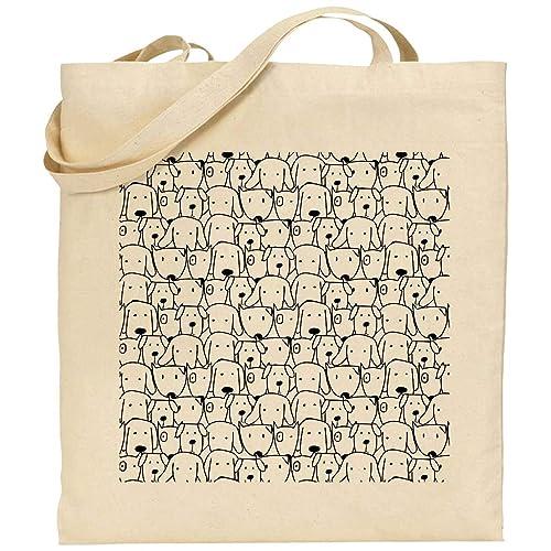 Bolsa algodón perros personalizable tote bag: Amazon.es: Handmade