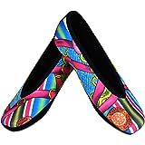 Nufoot Women's Ballet Flat Slippers Small:EU 30 (US 0) Pink Bamboo