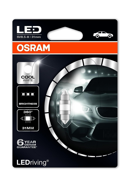 Osram 6497CW-01B LEDriving 6497CW-01B 1W 12V SV8.5-8 BLI1