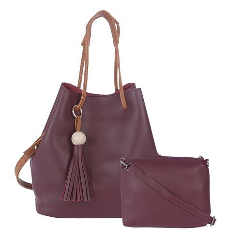 270babf31e Fur Jaden Women s Sling Bags With Sling Pouch( Maroon