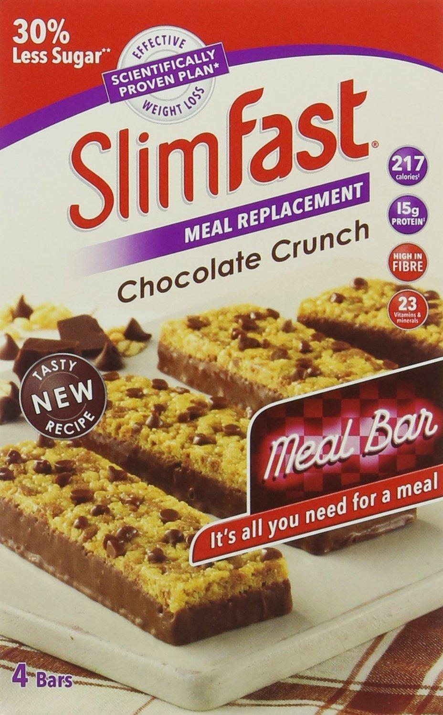SlimFast Chocolate Crunch Meal Bars