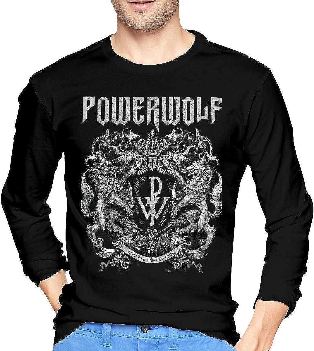 NathalieSalmeron Powerwolf Womens Casual Pullover Hoodie Sweatshirt