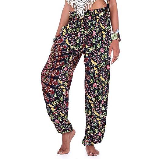 LuckyGirls Chic INS Pantalones Yoga Mujeres, Mujer ...