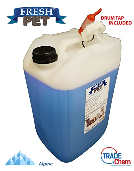 20L de Fresh Pet para la caseta del perro / desinfectante de gato, limpiador,