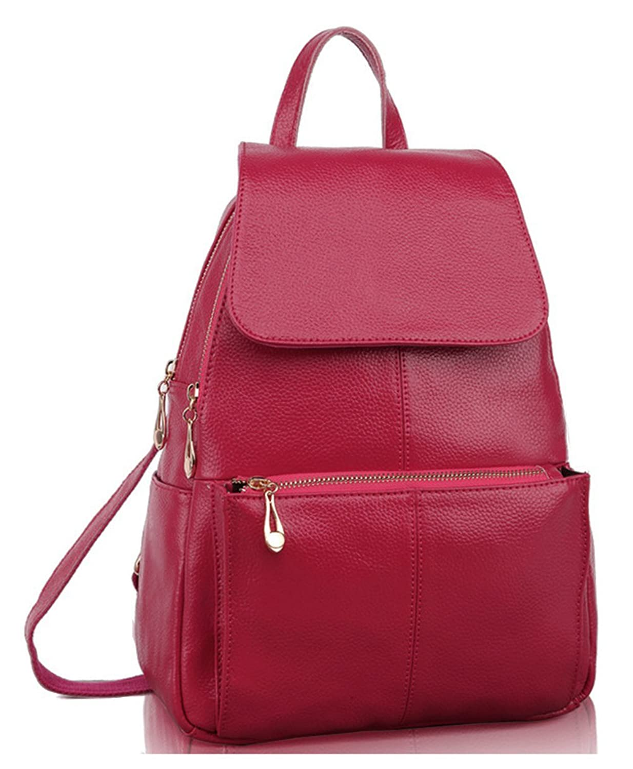 Keshi Leather Fashion Backpack Bag, Fashion Cute Lightweight Backpacks for Teen Young Girls