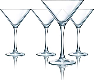 product image for Luminarc Atlas 7.5 Ounce Martini Glass 4-Piece Set, Set of 4, Clear