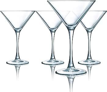 Set of 4 ARC International Luminarc Tabl Martini Glass 10-Ounce