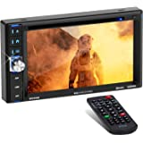 BOSS Audio Systems BV9358B Car DVD Player - Double Din, Bluetooth Audio and Calling, 6.2 Inch LCD Touchscreen Monitor, MP3 Pl