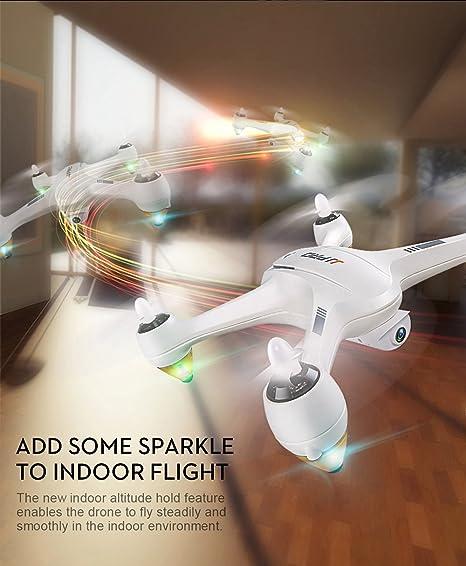 DishyKooker JJ-RC JJPRO X3 HAX Cuadricóptero RC Dron Doble Modo ...