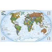 World Explorer, Laminated: Wall Maps World