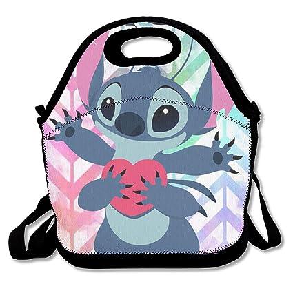 45301c0b49bc Amazon.com - LIUYAN Custom Lunch Box Love Stitch Picnic Lunch Bag ...