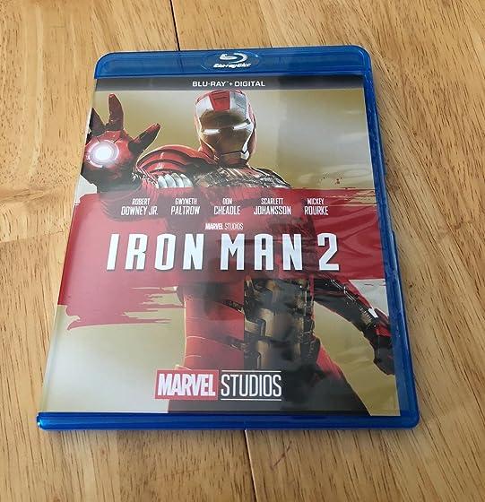 Iron Man 2 Iron man 2 in blu-ray rocks our socks!