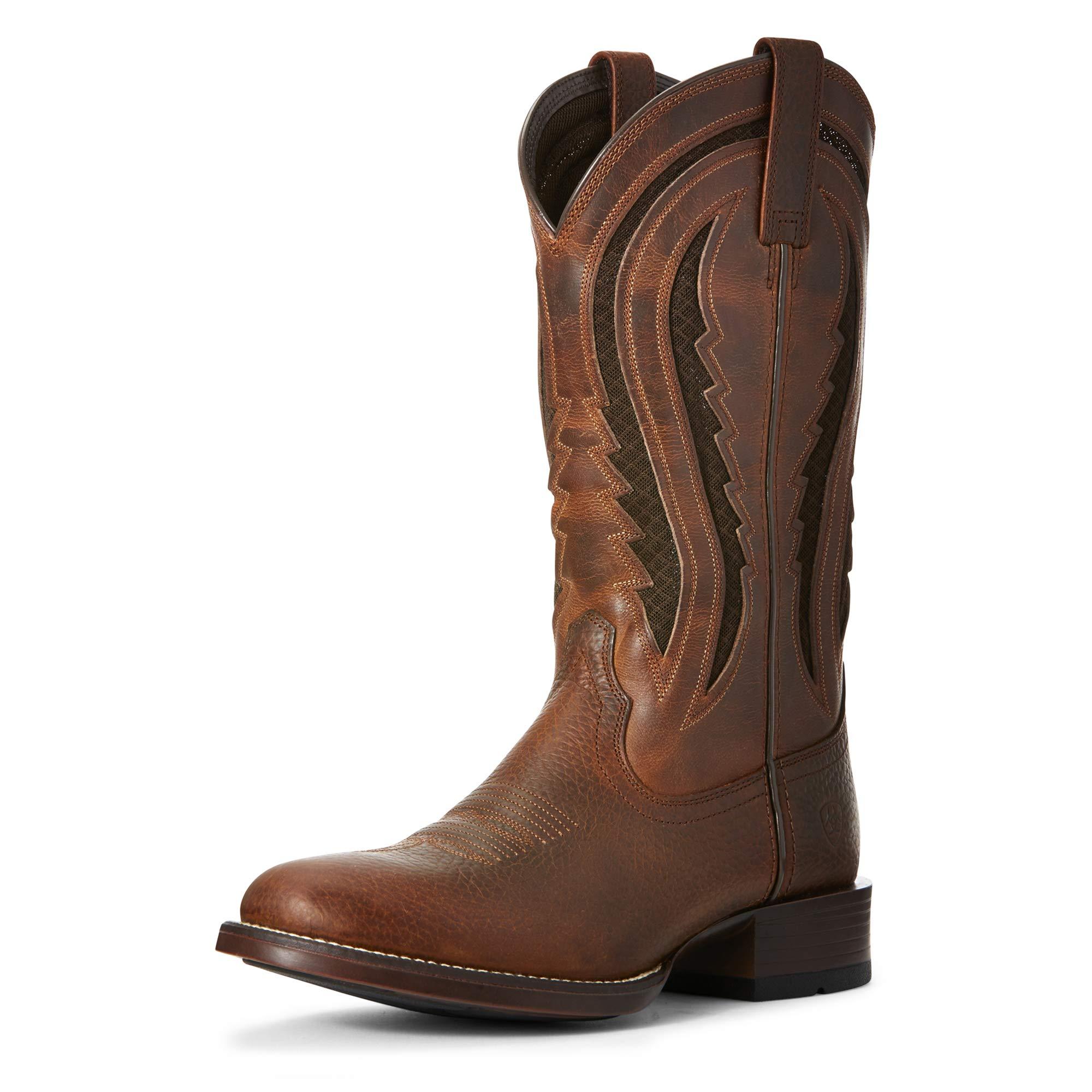 Ariat Men's Butte Venttek Western Boot, Copper Penny/Cinnabark, 12EE by ARIAT