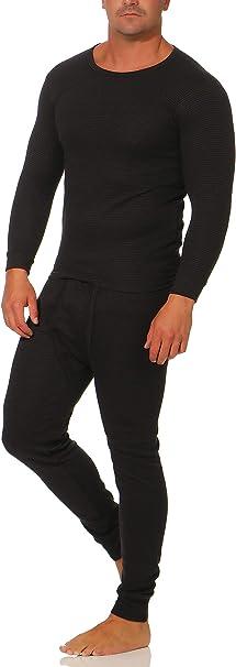 Termo Ropa Interior Funcional para Hombre/Cálido Calzoncillos y Camisa Manga Larga 4038: Amazon.es: Ropa y accesorios