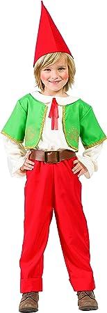 Disfraz Gnomo (3-4 AÑOS): Amazon.es: Juguetes y juegos