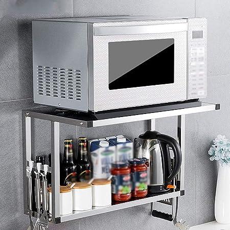 Rejilla para horno de microondas Muebles de cocina Estante para especias del hotel Colgante de pared