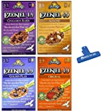 Ezekiel 4:9 Sprouted Whole Grain Cereal Variety, Cinnamon Raisin, Almond, Golden Flax, and Original, 1 of each (Pack of…