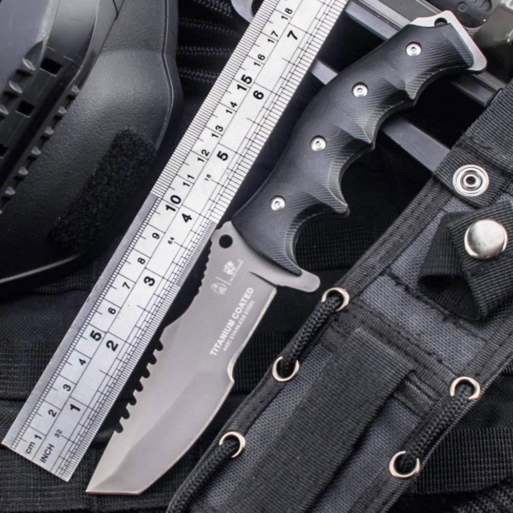 Amazon.com: Cuchillos tácticos de hoja fija HX para ...