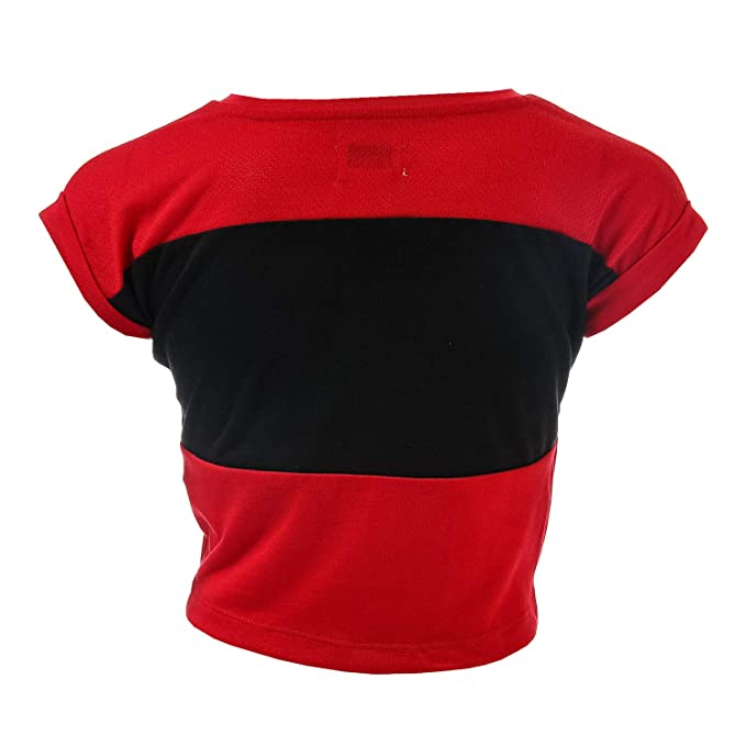 f1629630dab Amazon.com  Converse Girl s Colourblocked Tie Top 4T Red  Converse  Clothing