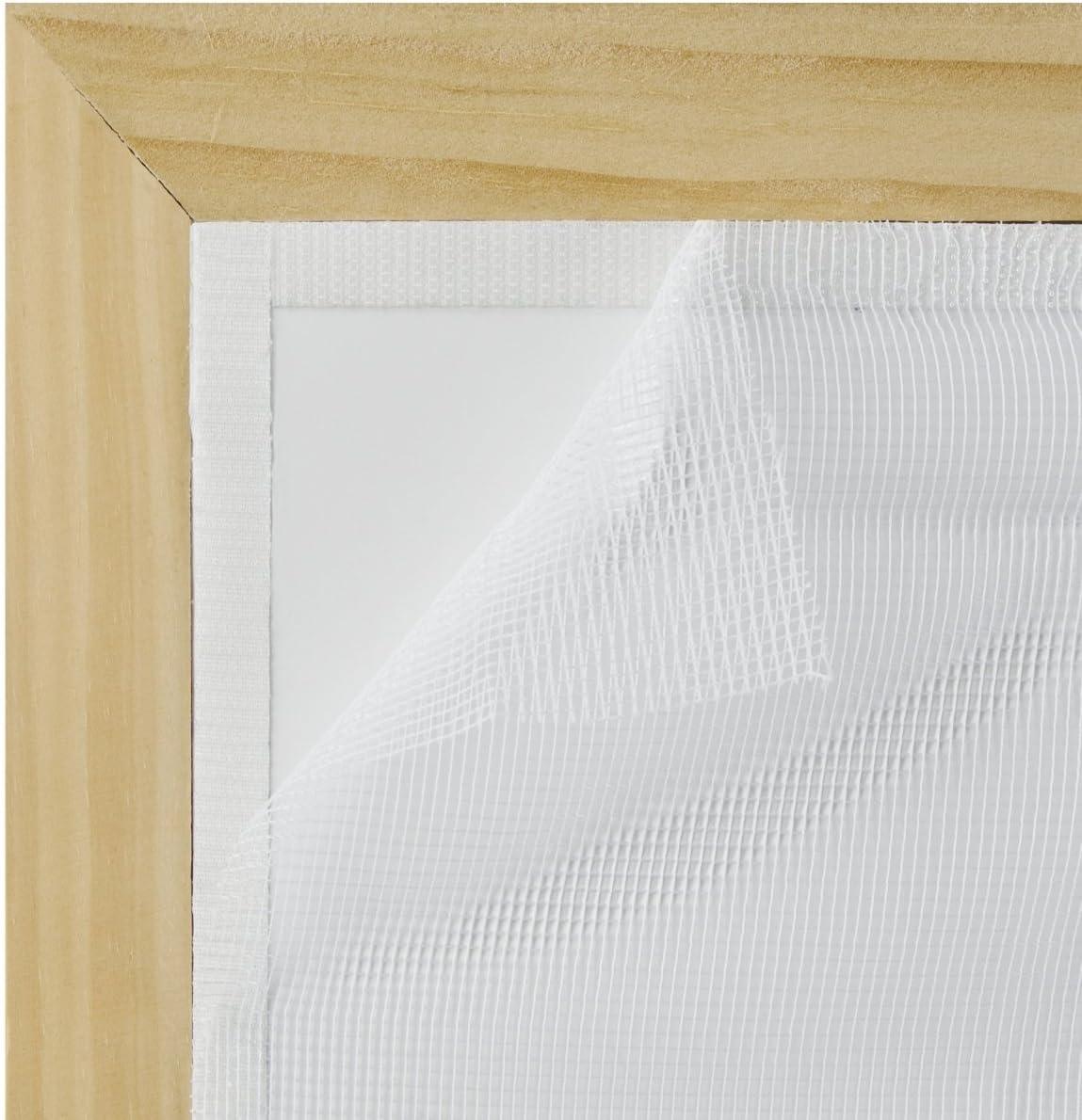 1.5m x 1.3m by Targarian Mosquiteros Est/ándar para Ventanas y Puertas con Gancho y Bucle